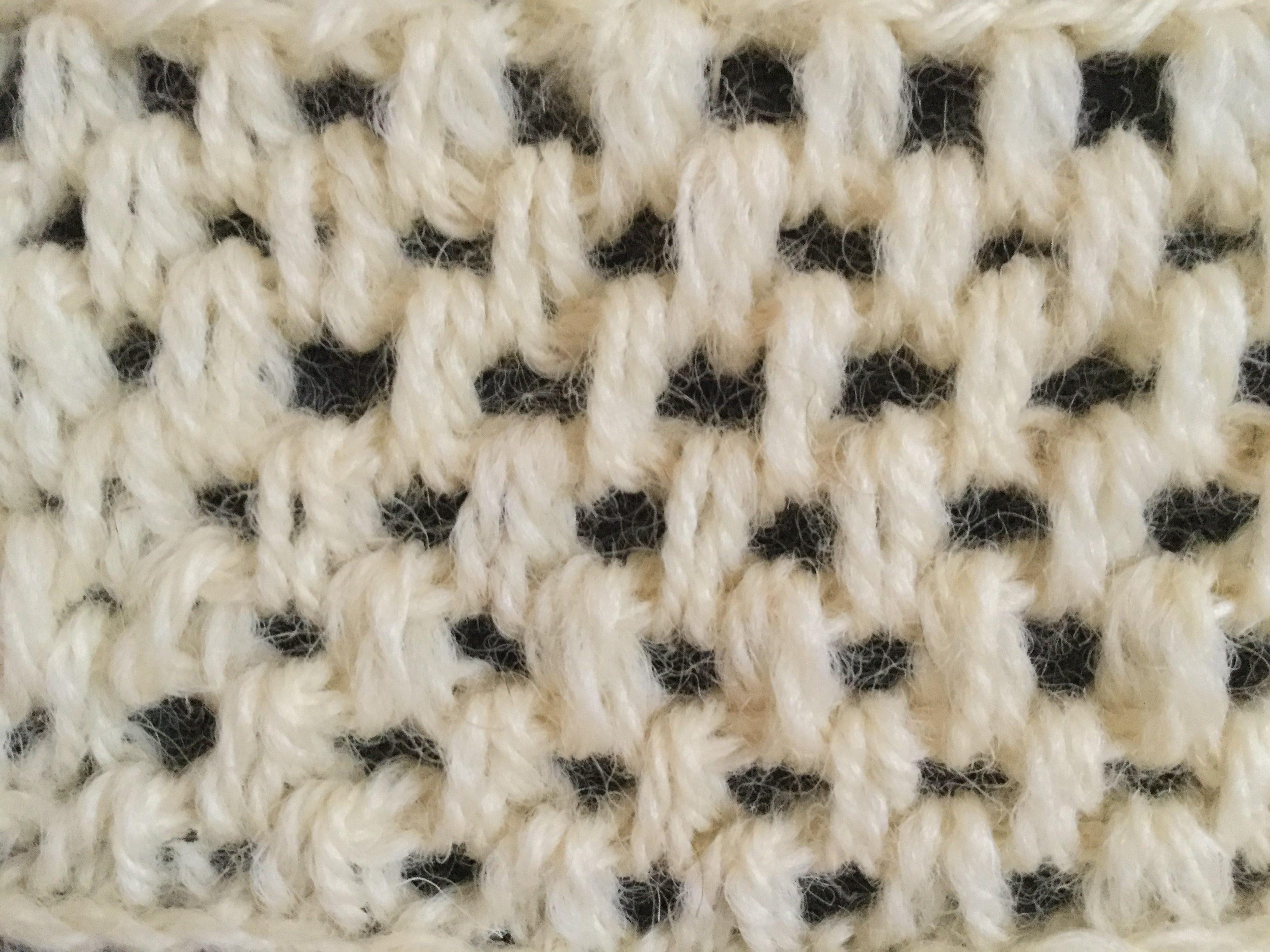 編み アフガン