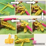 糸処理を楽にする方法~作り目の糸端