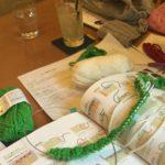 編み物教室は技術を教わって更に……南林間教室での一コマ